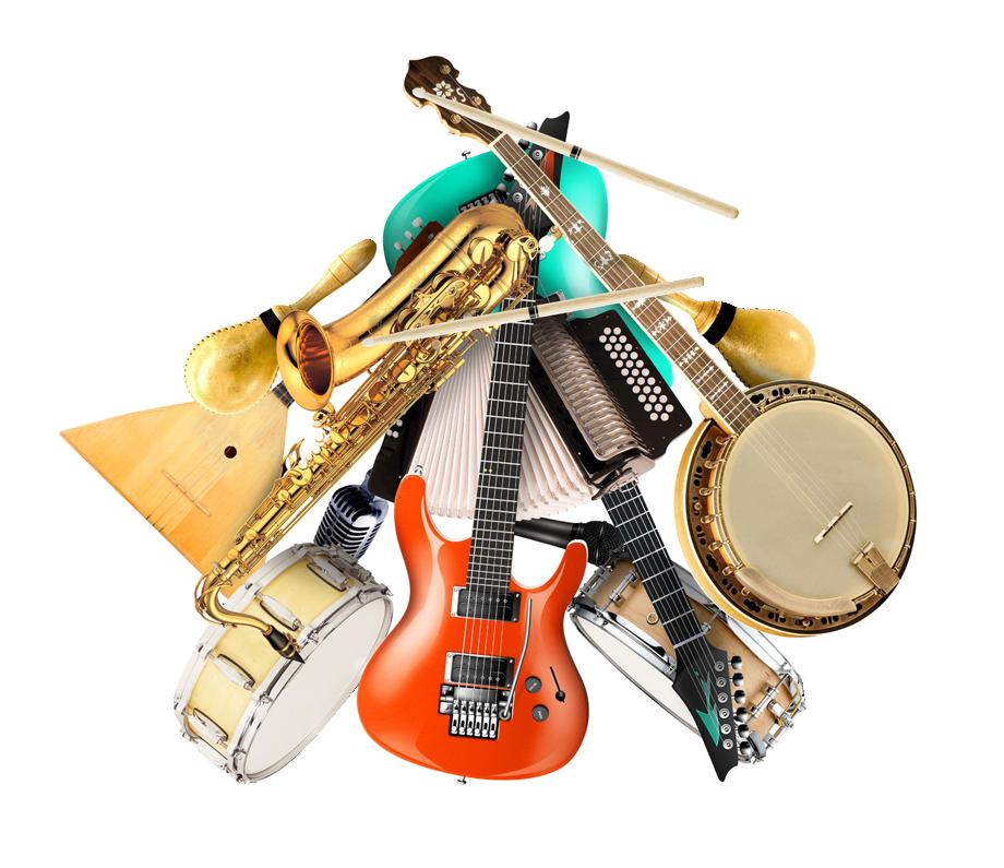 Principaux genres musicaux