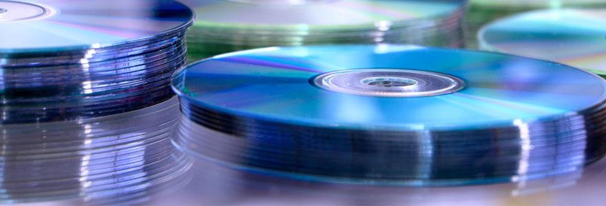Pressage de CD